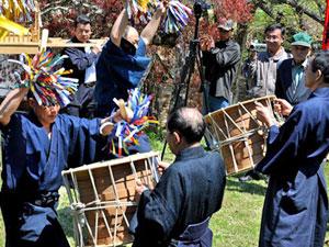 日吉の御鍬祭り
