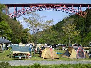 キャンプ場 かじか荘