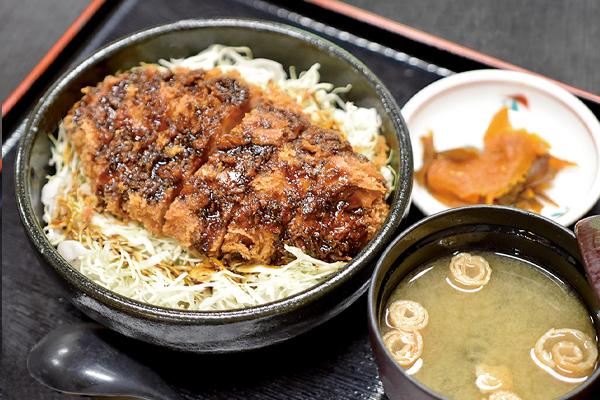 和食処 かじか亭 ソースカツ丼